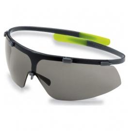 Okulary UVEX-G, oprawki zielone, szkła czarne
