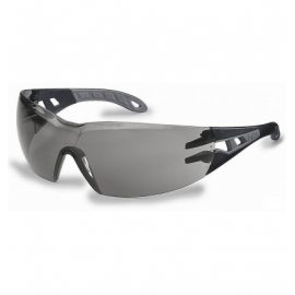 Okulary UVEX-G Pheos, oprawki czarne, szkła czarne